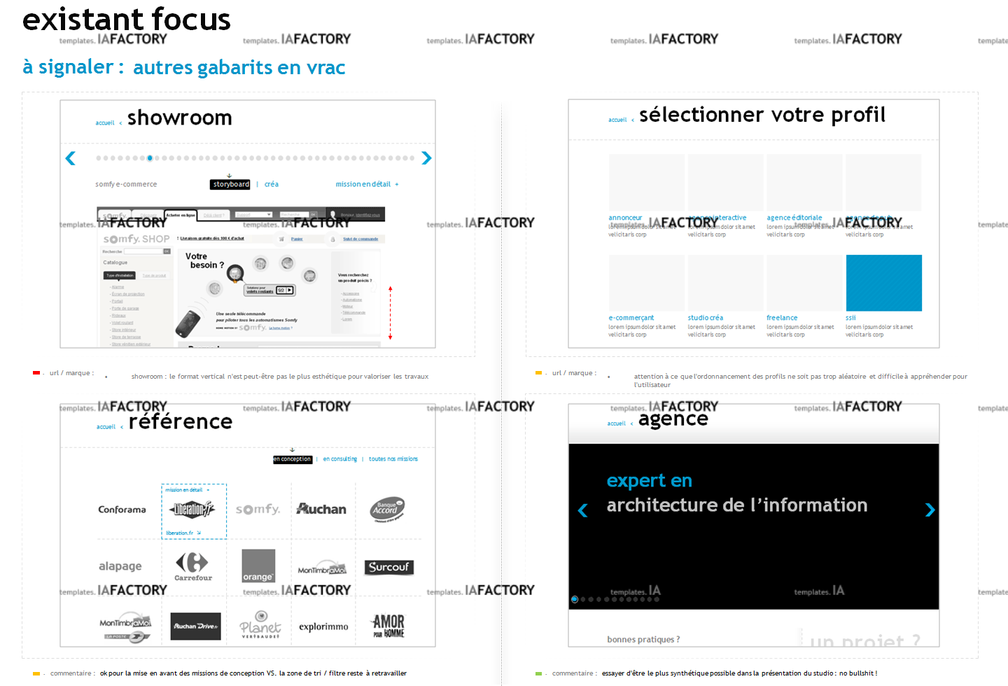 existant - analyses (http://templates.iafactory.fr) – fichier .ppt