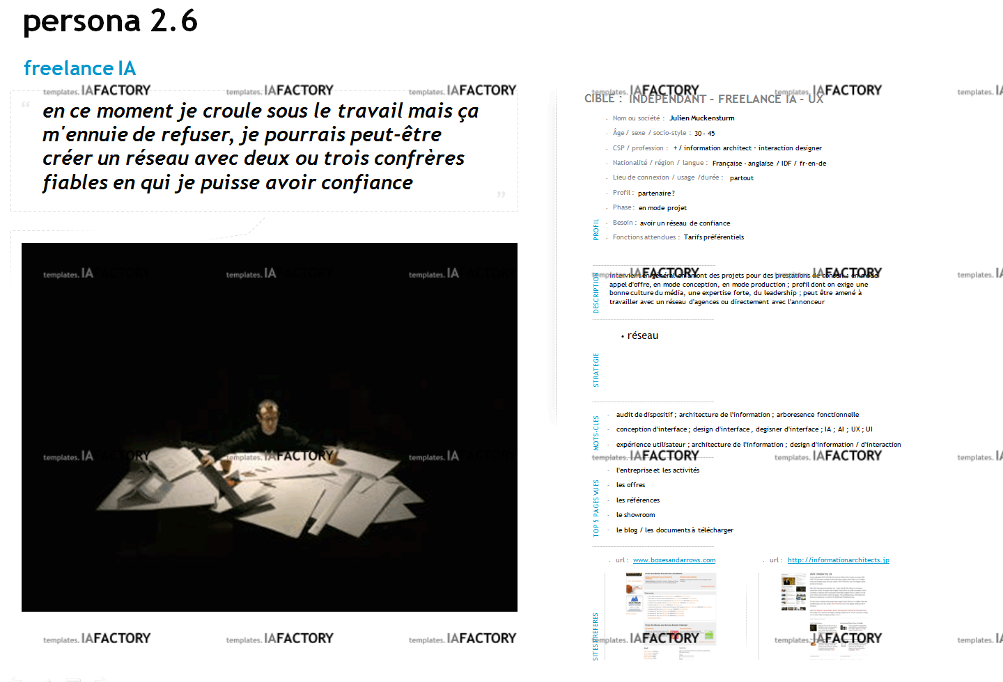 persona - fiche persona (http://templates.iafactory.fr) – fichier .ppt