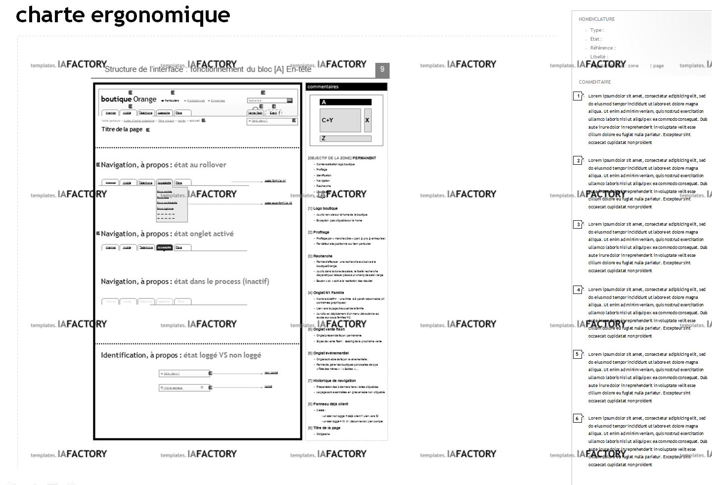 storyboard – charte ergonomique (http://templates.iafactory.fr) – fichier .ppt