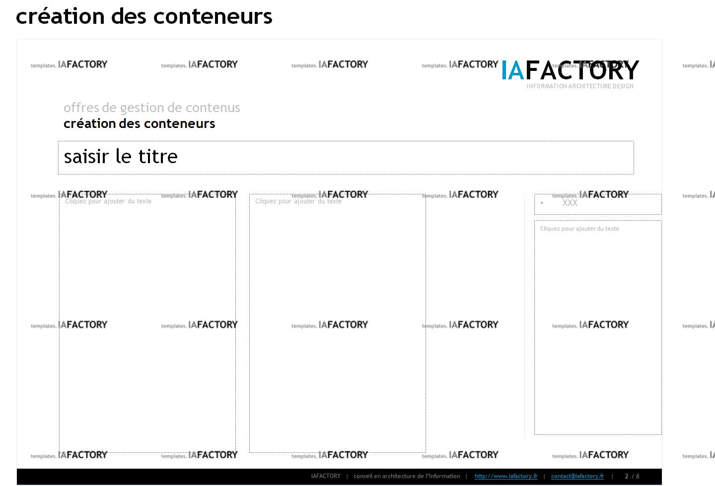 storyboard – conception des conteneurs (http://templates.iafactory.fr) – fichier .ppt