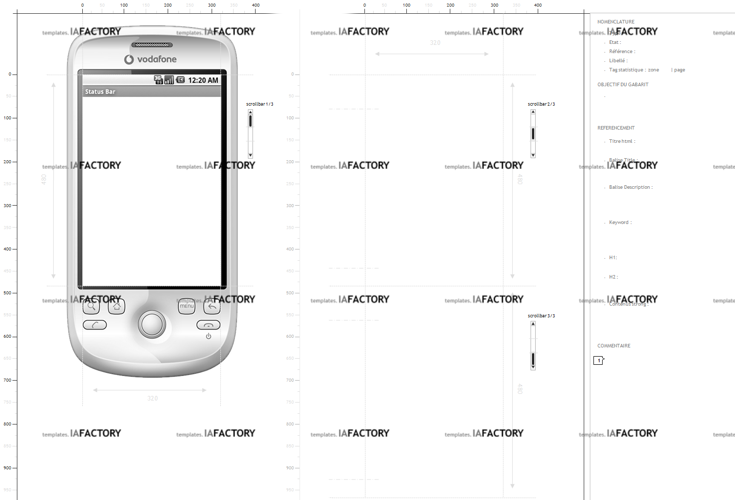 storyboard - smartphone (http://templates.iafactory.fr) fichier .ppt