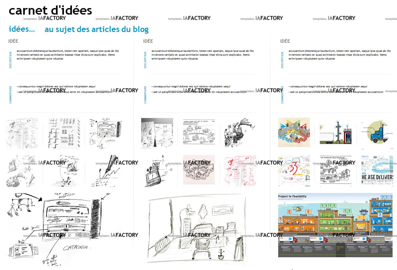 outils - carnet d'idées (http://templates.iafactory.fr) - fichier .ppt