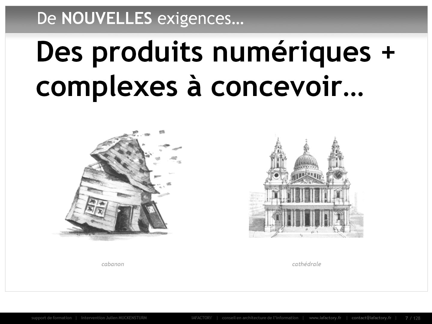 formation universitaire en conception - des produits plus complexes à concevoir