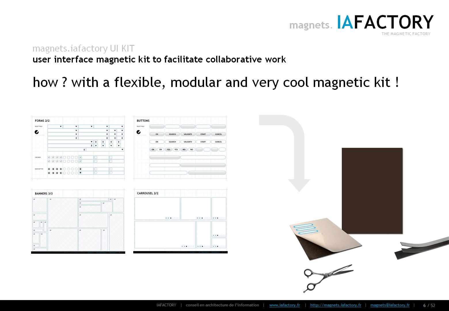 magnets.iafactory (interface utilisateur magnétique) concept 04