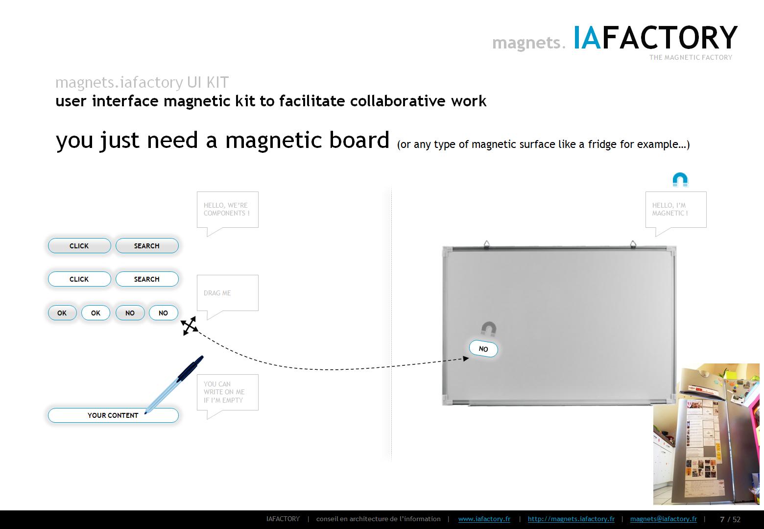magnets.iafactory (interface utilisateur magnétique) concept 05