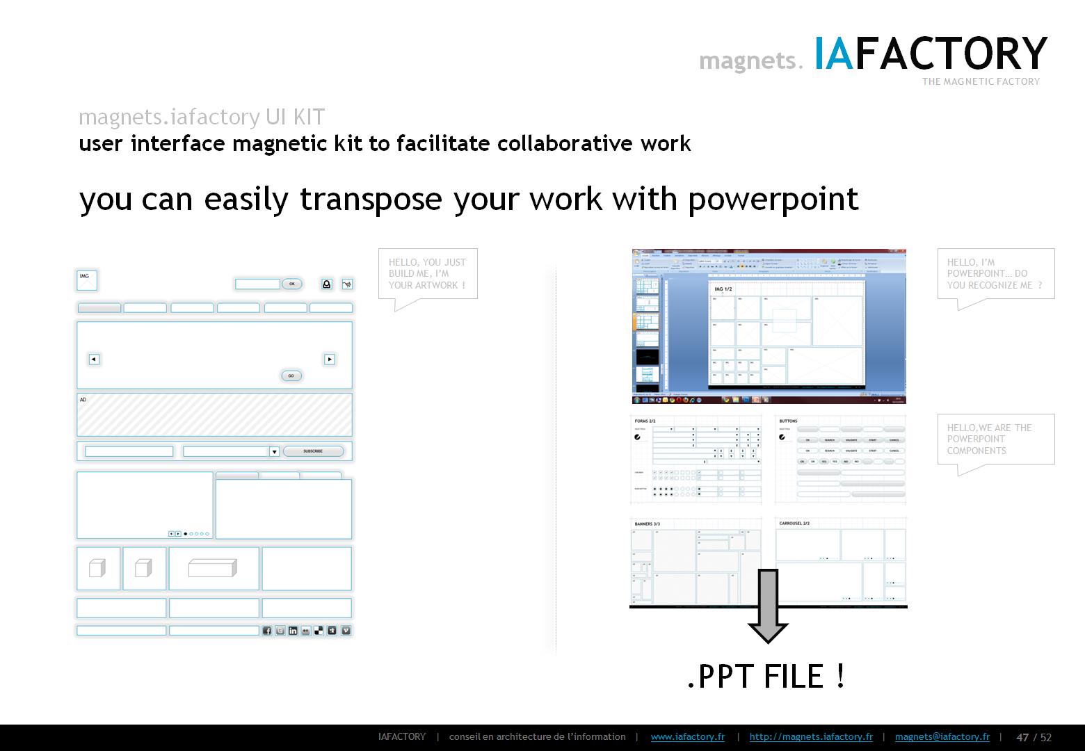 magnets.iafactory (interface utilisateur magnétique) concept 08