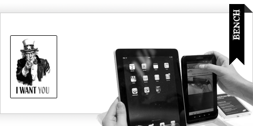 benchmark expérience web tablette