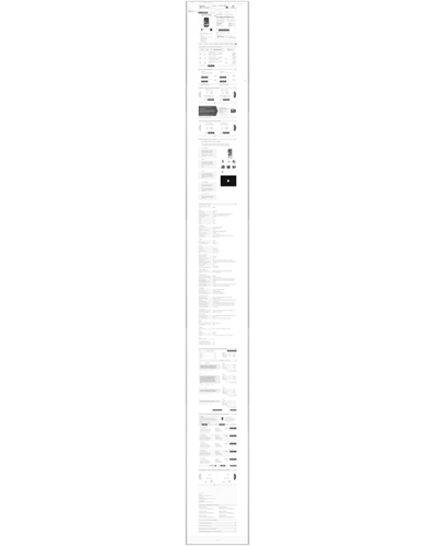 wireframe fiche produit, projection tablette portrait - descente catalogue responsive Cdiscount