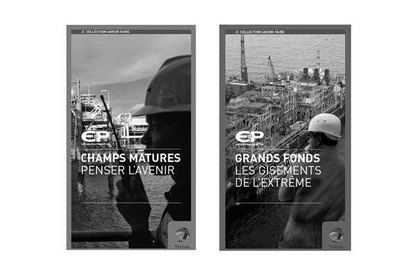 couvertures de brochure total exploration-production