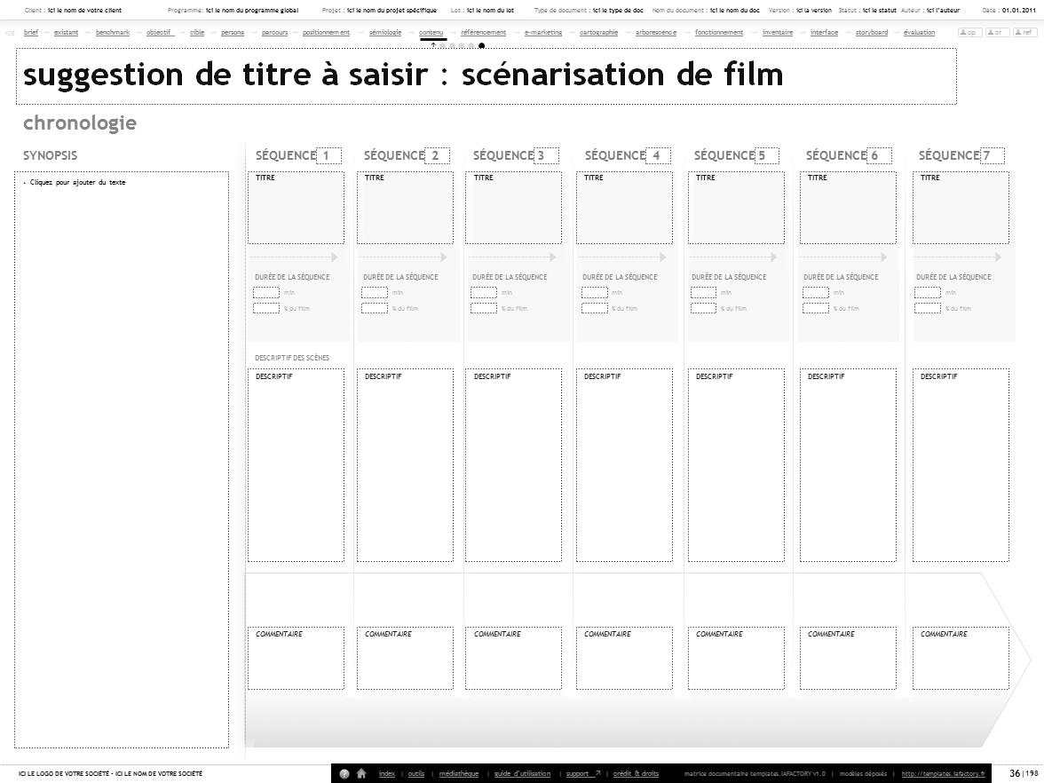 Scenario Interactif Scenarisation Ux Iafactory