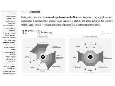 benchmark de la concurrence Paris8