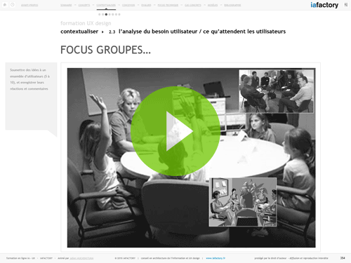 focus groupe ux design