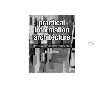couverture livre practical information architecture Eric Reiss