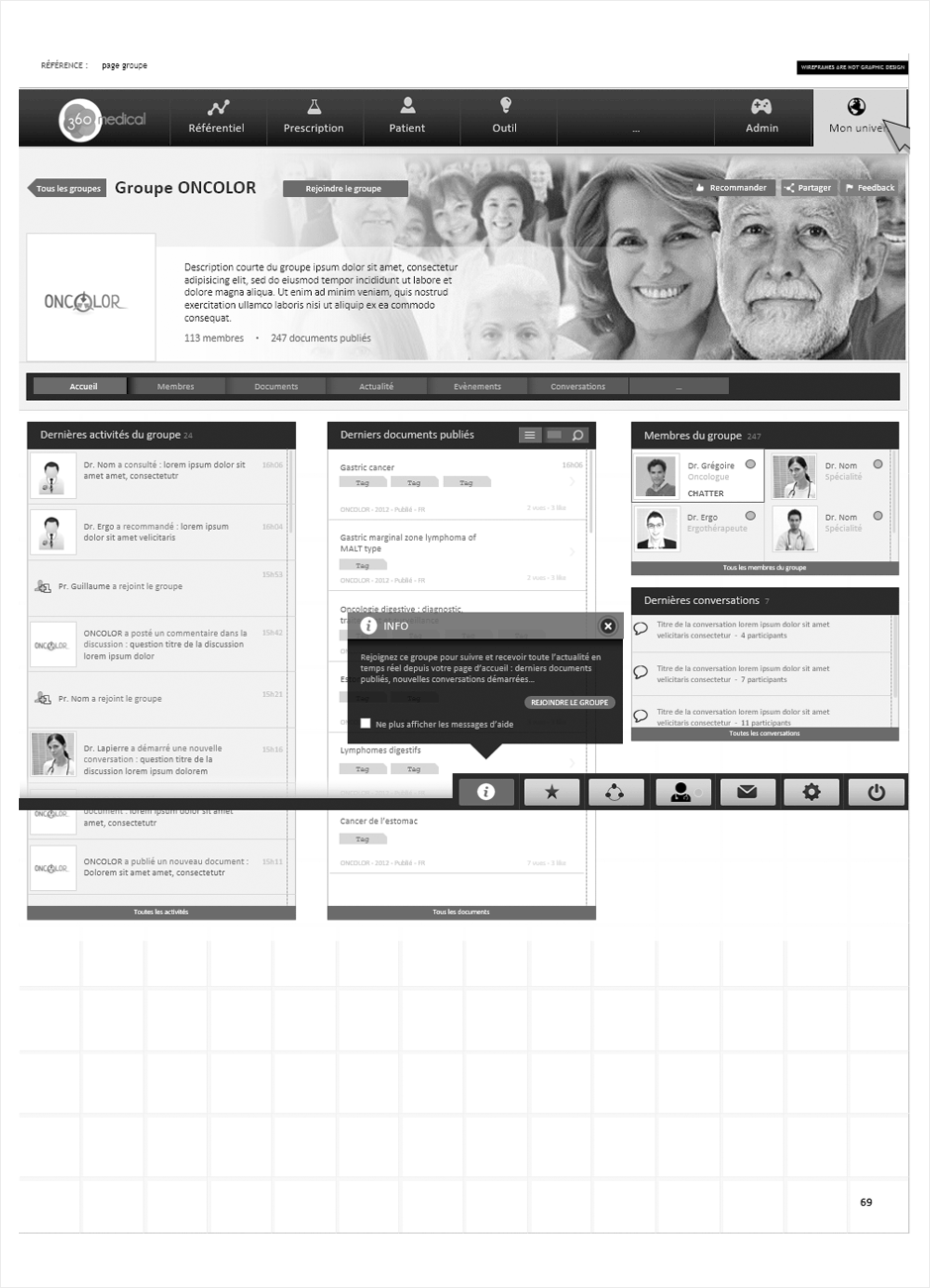 wireframe 360medical