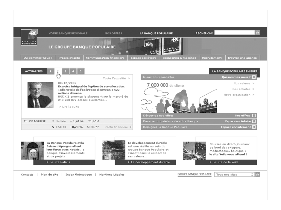 wireframe banque-populaire