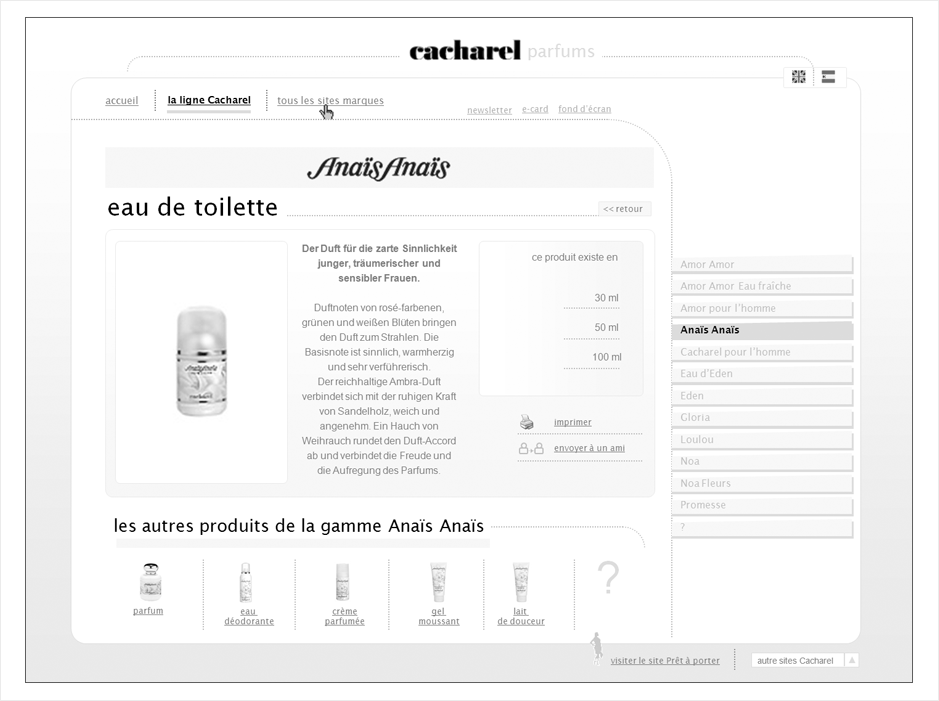 wireframe cacharel