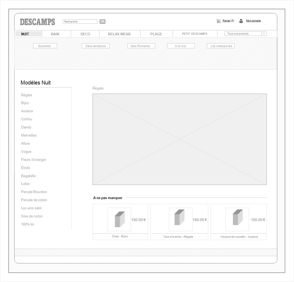 wireframe descamps