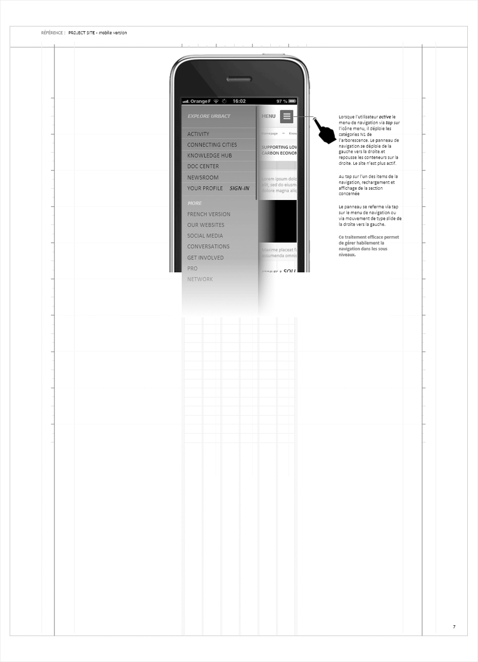wireframe urbact-responsive