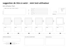 illustration test utilisateur