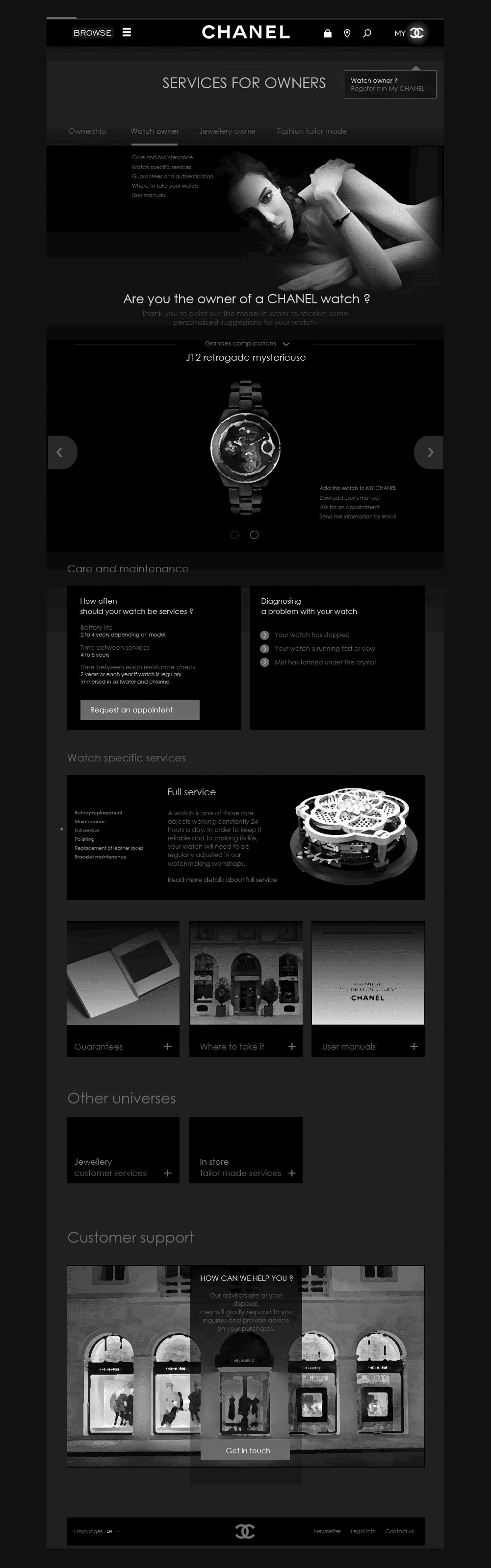 Exemple de conception d'interface utilisateur