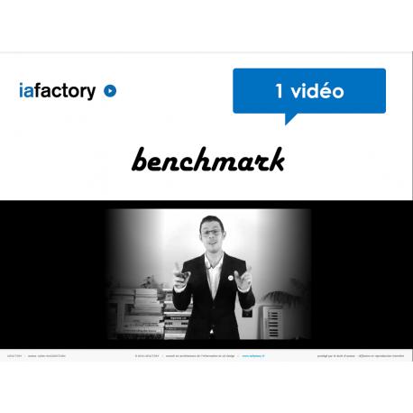 Vidéo benchmark concurrentiel + livrable