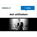 Vidéo test utilisateur + livrables