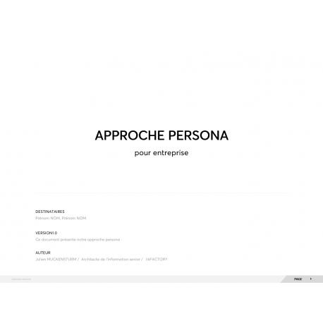 Exemple modèle persona à télécharger