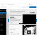 Wireframe site business vitrine responsive