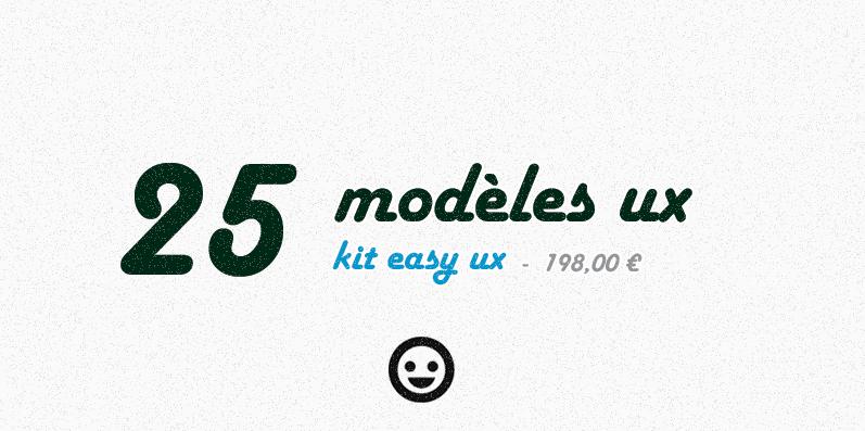 Kit ultime easy ux