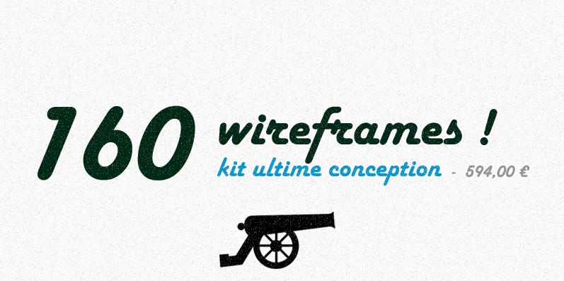 Kit ultime de wireframes