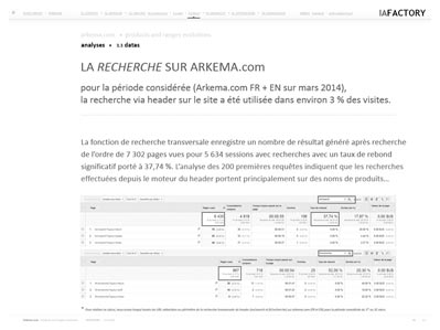 étude de performance web