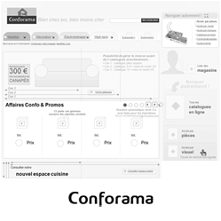 projet ux iafactory conforama