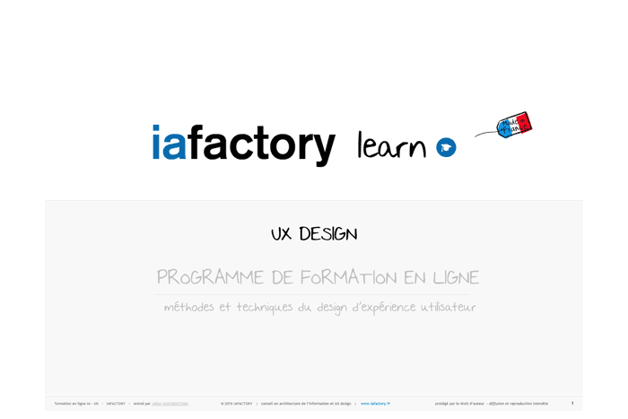 ebook ux design iafactory